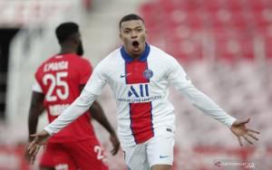 Dua Gol Kylian Mbappe Bantu PSG Hancurkan Dijon 4-0