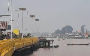 Kabut Asap Mulai Selimuti Pangkalan Bun