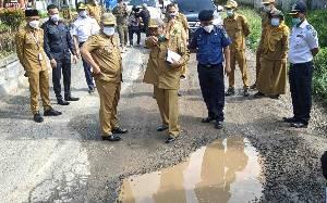 Pemerintah Provinsi Akan Perbaiki Jalan Lingkar Selatan