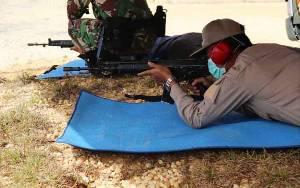Wakil Bupati Barito Utara Bersilaturahmi Sekaligus Latihan Menembak