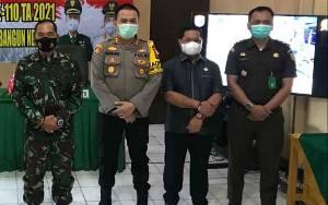 Wakil Ketua I DPRD Kapuas Hadiri Pembukaan TMMD ke 110