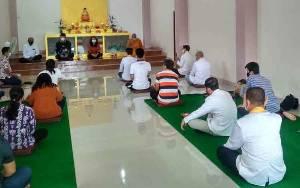 Umat Buddha Diingatkan Dukung Pemerintah Dalam Penanganan Covid-19