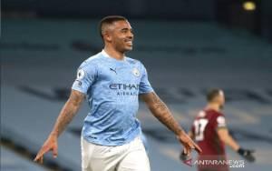 Gabriel Jesus Cetak 2 Gol saat City Hantam Wolverhampton 4-1