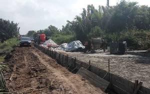 Masyarakat Jelai Dukung Komitmen Gubernur Kalteng Bantu Pembangunan Jalan