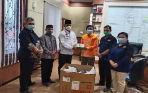 Pemkab Sukamara Terima Hibah 175 Unit Thermo Gun dari KPU