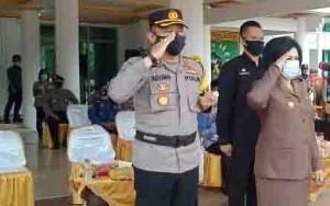 Kapolres Barito Selatan Harapkan Semua Perangkat Siap Siaga Menghadapi Karthutla