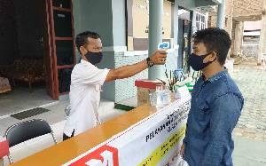 Ini Cara Kantor Kelurahan Kuala Pembuang I Cegah Penularan Covid-19