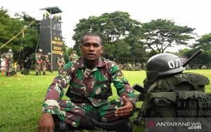 Pemain Sepak Bola AC Milan Junior Gabung Prajurit TNI AD
