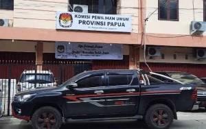 Kantor KPU Papua di kawasan Entrop, Jayapura