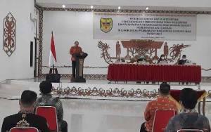 Pemkab Gunung Mas Gelar Penandatanganan Pakta Integritas dan Pernyataan Kesanggupan Pencapaian PAD