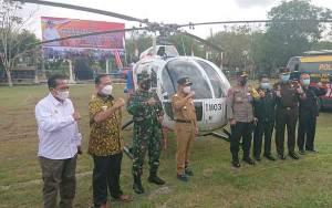 Gubernur Kalteng, Sugianto Sabran menyatakan Kalteng sudah siaga hadapi Karhutla