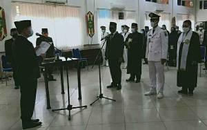 3 Camat, 3 Sekretaris Dinas dan 2 Lurah Dilantik di Kapuas