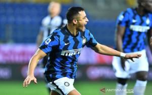 Alexis Sanchez Cetak 2 Gol Saat Inter Amankan 3 Poin dari Parma