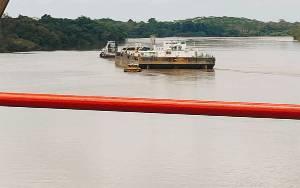 Kabel Listrik di Areal Jembatan Bejarum Putus Akibat Ditabrak Kapal Tangker, Sejumlah Wilayah Alami Pemadaman