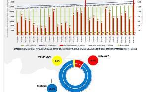 Kasus Positif Covid-19 di Kalteng Bertambah 152