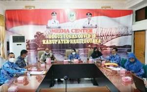 Pemkab Barito Utara Ikuti Rapat Koordinasi Penyederhanaan Birokrasi dan Pengadaan CPNS