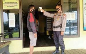 Polsek Kapuas Murung Terapkan Protokol Kesehatan Layani Warga