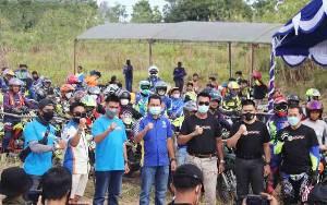 350 Peserta Meriahkan Touring Hadaduhup Part 1