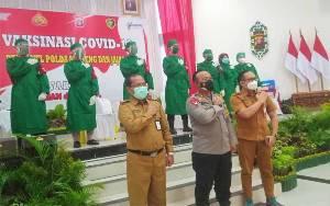 Ribuan Personel Polda Kalteng Divaksin Covid-19 Mulai Hari Ini