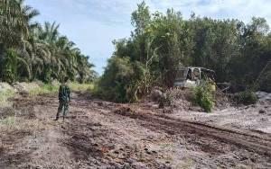 Pembukaan Jalan di Desa Lalang Sudah Capai 40 Persen