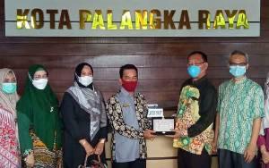 DPRD Palangka Raya Terima Kunjungan Kerja DPRD Banjarmasin dan Batola
