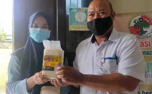 DPMDes Kotim Sosialisasikan Beras Bervitamin Cegah Stunting