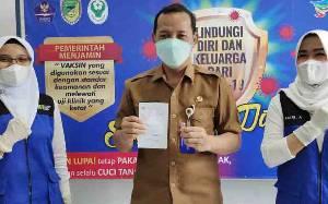 Vaksinasi Nakes di Barito Utara Capai 1.308 Orang