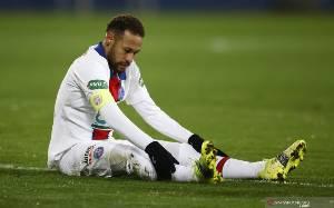 Neymar Terancam Bakal Absen di Laga Leg Kedua Lawan Barcelona