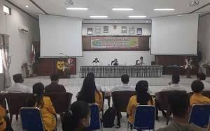 Ratusan Mahasiswa UPR Jalani KKNT Mandiri di Gunung Mas
