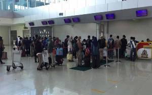 Penumpang di Bandara Tijlik Riwut Naik 20 Persen