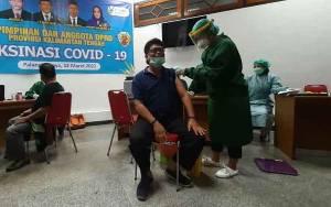 Legislator Kalteng Ini Ajak Semua Pihak Sukseskan Program Vaksinasi Covid-19