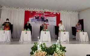 Jelang Pilkades, Calon Kepala Desa Pembuang Hulu 1 Ikuti Debat Publik