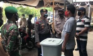 Tim Gabungan di Kapuas Lakukan Patroli, Imbau Warga Terapkan Prokes
