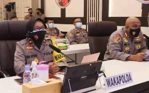 Wakapolda Kalteng Berikan Semangat kepada Siswa SPN Laksanakan Pembelajaran Jarak Jauh