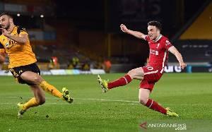 Diogo Jota Bawa Liverpool Kalahkan Wolverhampton