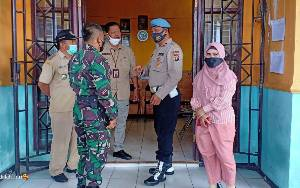 SekdaSeruyan Pantau Pelaksanaan Pilkades Serentak
