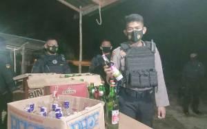 Polisi Amankan Penjual Miras Tanpa Izin di Palangka Raya