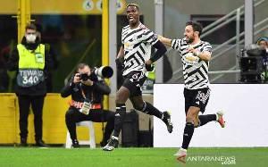Pogba Antar MU Lewati Milan Menuju Perempat Final Liga Europa