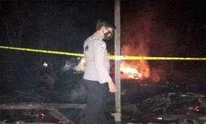 Kebakaran di Desa Basirih Hulu Diduga Korsleting Listrik