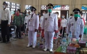 Pesan Bupati Katingan Saat Melantik Pj Kades Kecamatan Sanaman Mantikei dan Petak Malai