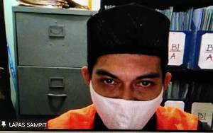 Jadi Kurir Sabu, Warga Cempaga Divonis 5 Tahun Penjara