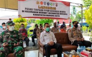 Sekda Murung Raya Hadiri Launching PPKM Skala Mikro