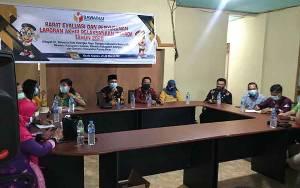 Bawaslu Kalteng Gelar Rapat Evaluasi Pelaksanaan Pilkada 2020 di Wilayah III