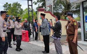 Wakapolda Kalteng Kunker ke Polres Sukamara