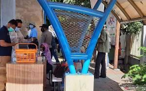 Polisi Amankan Sejumlah Simpatisan Rizieq Shihab di PN Jakarta Timur