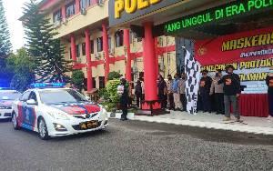 Polda Kalteng Intensifkan Operasi Yustisi, 3 Lokasi Jadi Sasaran