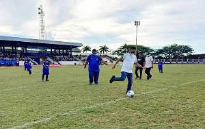 8 Club U-13 Ikuti Turnamen Liga Pelajar Antar SSB di Barito Utara