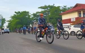 Perkenalkan Pariwisata Lewat Gowes Bareng di Sampit