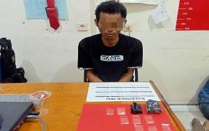Pria Tamatan SD di Sampit Diringkus karena Edarkan Sabu