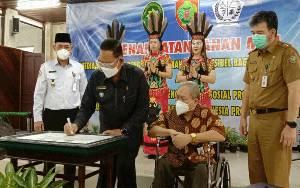 Dinsos Bersama Pengadilan Tinggi Teken MoU Layanan Ramah Bagi Penyandang Disabilitas